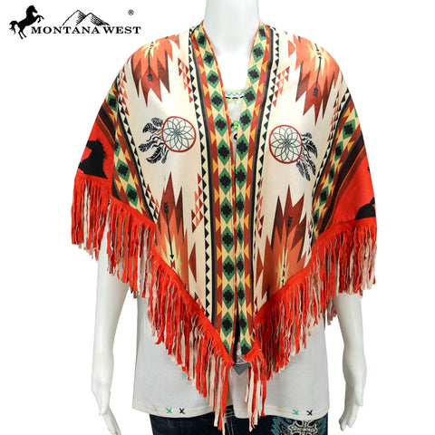 PCH-1695 Montana West Aztec Print Collection Shawl