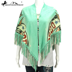 PCH-1698 Montana West Rodeo Print Collection Shawl