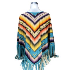 PCH-1701 Montana West Serape Collection Poncho
