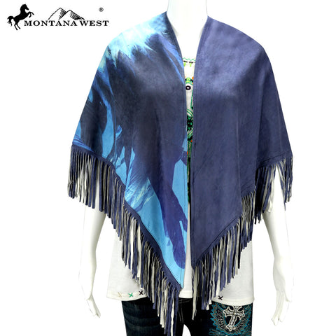 PCH-1730 Montana West Native American Collection Shawl