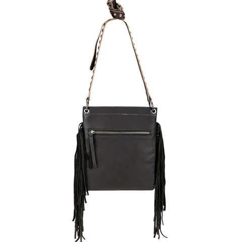 RLC-121 Montana West Real Leather Shoulder/Crossbody Bag