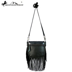 RLC-L080 Montana West 100% Real Leather Crossbody