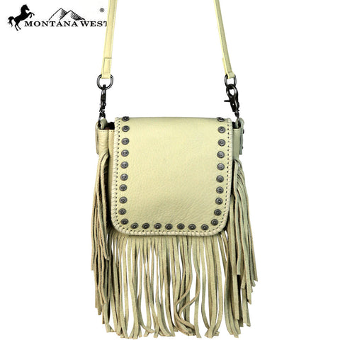 RLC-L082 Montana West 100% Real Leather Crossbody
