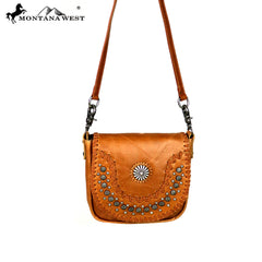 RLC-L093 Montana West Real Leather Crossbody