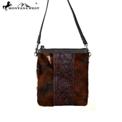 RLC-L100 Montana West 100% Real Leather Crossbody