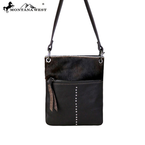 RLC-L101 Montana West 100% Real Leather Crossbody