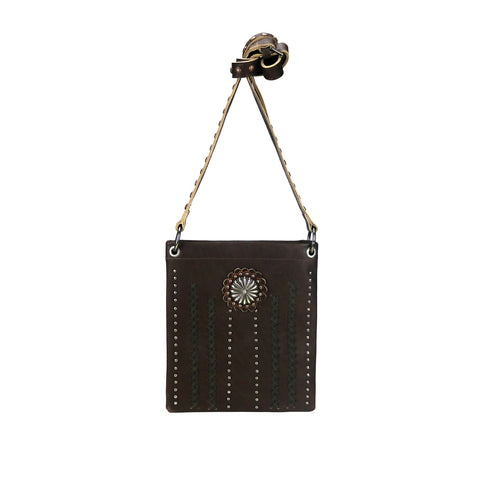 RLC-L140 Montana West Real Leather Shoulder/Crossbody Bag