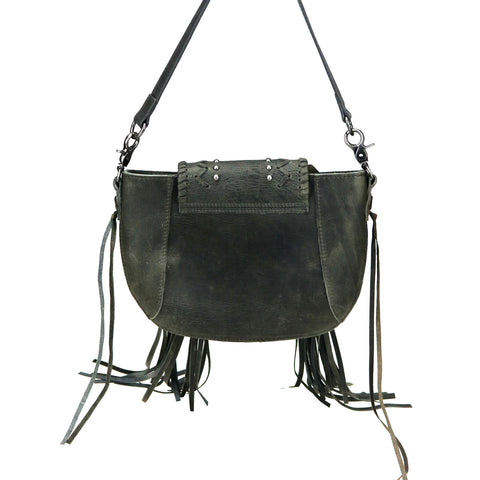 RLC-L141 Montana West Real Leather Shoulder/Crossbody Bag