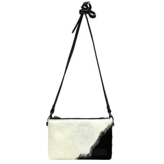 RLH-007 Montana West Hair-On Cowhide Leather Clutch/Crossbody