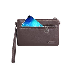 RLH-008 Montana West Hair-On Cowhide Leather Clutch/Crossbody