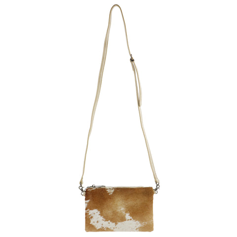 RLH-028 Montana West Hair-On Cowhide Leather Clutch/Crossbody