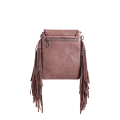 RLL-015 Montana West 100% Genuine Leather Fringe Collection Crossbody