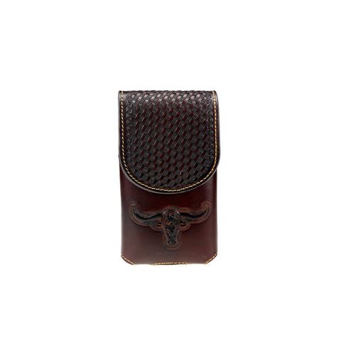 RLP-005 Montana West Genuine Leather Belt Loop Holster Cell Phone Case