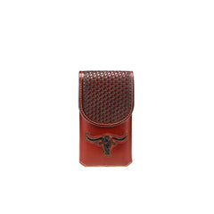 RLP-005S Montana West Genuine Leather Belt Loop Holster Cell Phone Case