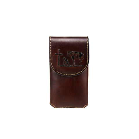 RLP-011 Montana West Genuine Leather Belt Loop Holster Cell Phone Case