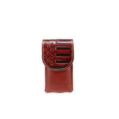 RLP-013S  Montana West Genuine Leather Phone Belt Loop Holster