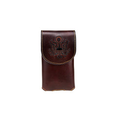 RLP-015 Montana West Genuine Leather Belt Loop Holster Cell Phone Case