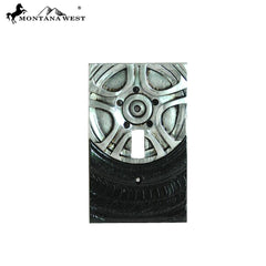 RSM-1728 Montana West Racing Sports Car Wheel Single Switch Plate Cover