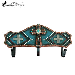 RSM-1746 Montana West Turquoise Aztec Resin Coat Rack