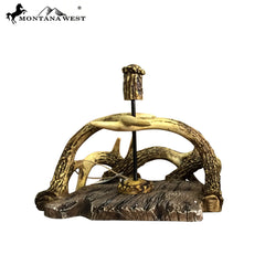 RSM-1758 Montana West Antler Resin Napkin-Holder
