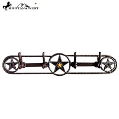 RSM-1792 Montana West Metal Lone-Star Coat  Hooks