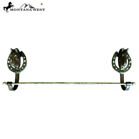 RSM-1809 Montana West Western Metal  Horse Towel Rack