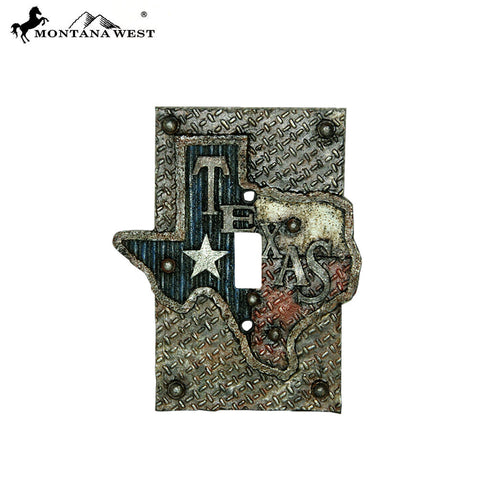 RSM-1900 Montana West Texas Lonestar Single Switch Plate Cover By Piece
