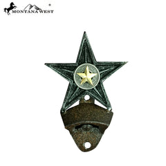 RSM-1922 Montana West Lone-Star Bottle Opener