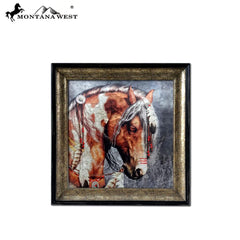 RSM-1942 Montana West Horse Art-Laurie Prindle Wall Plaque