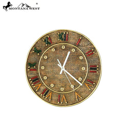 RSM-1974 Montana West ShortgunShell Wall Clock