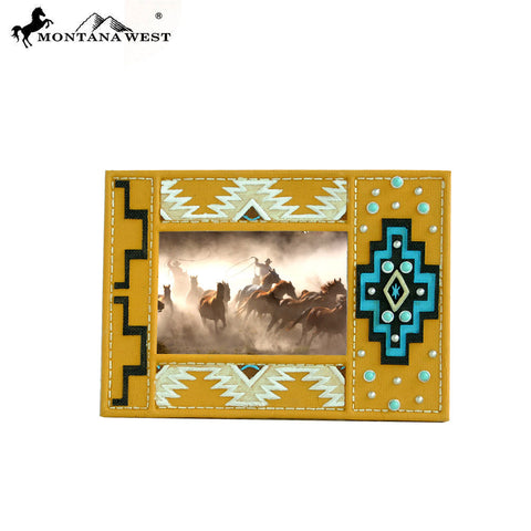 RSP-1605 Montana West Brown Aztec Resin Photo Frame