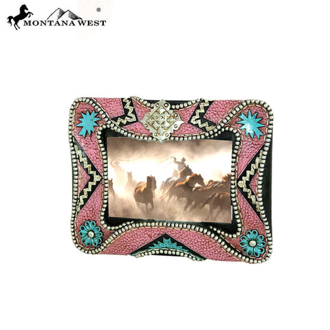 RSP-1609 Montana West Pink Resin Texture Photo Frame
