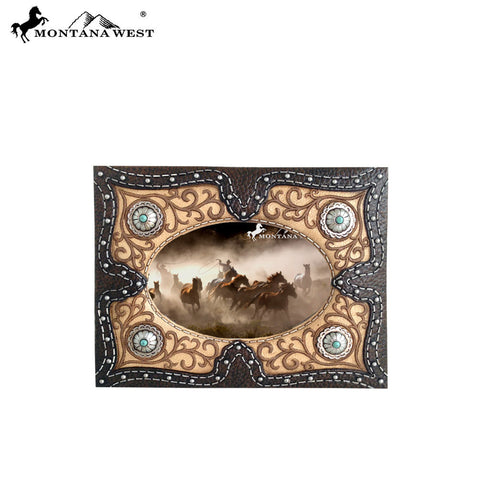 RSP-1655 Montana West Floral Resin Texture Photo Frame