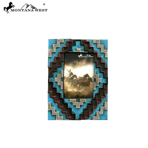 RSP-1688  Montana West Aztec Resin Photo Frame