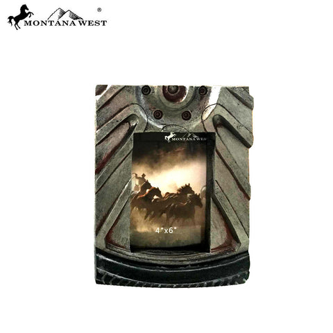 RSP-1729 Montana West Motor Wheel Resin Texture Photo Frame