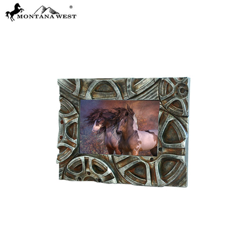 RSP-221 Montana West Resin Tire Photo Frame