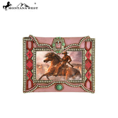 RSP-236 Montana West Pink Texture Resin Photo Frame