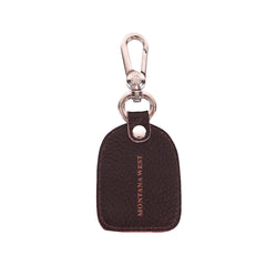 RYS-250  Montana West Real Leather Cross Concho Key Chain 1Pcs