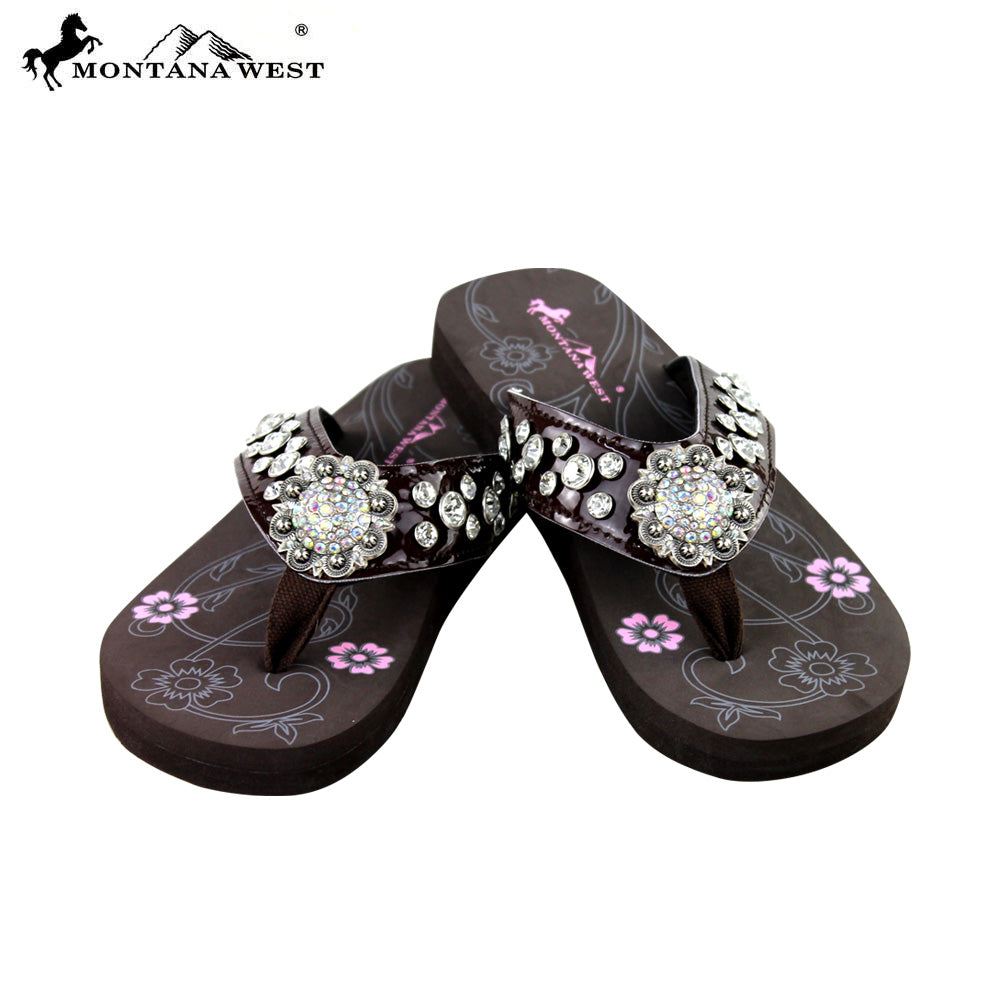 e1c80c9cd376 SE17-S001 Bling Bling Collection Flip Flops BY CASE (Thin Sole ...