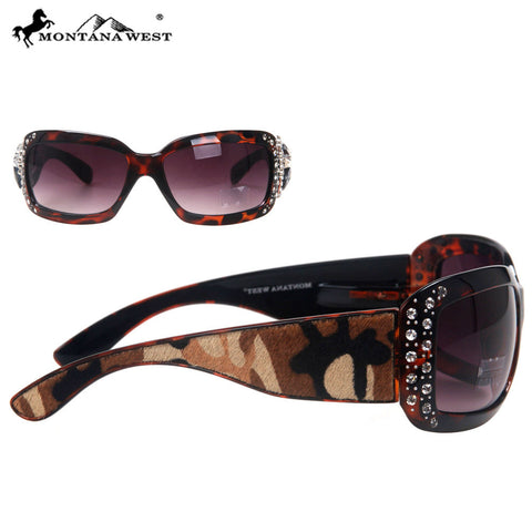 SGS-23E Montana West Cowhide Collection Sunglasses