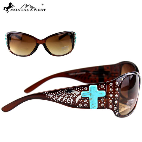 SGS-3302 Montana West Spiritual Collection Sunglasses
