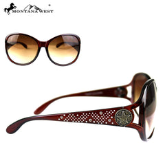 SGS-4605 Montana West Lonestar Concho Collection Western Woman Sunglasses