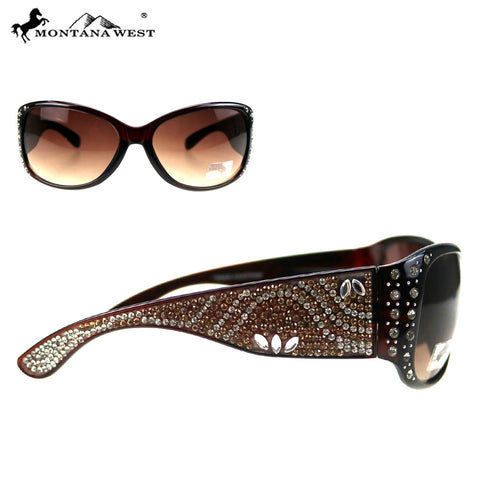 SGS-5103 Montana West Bling Bling Collection Sunglasses
