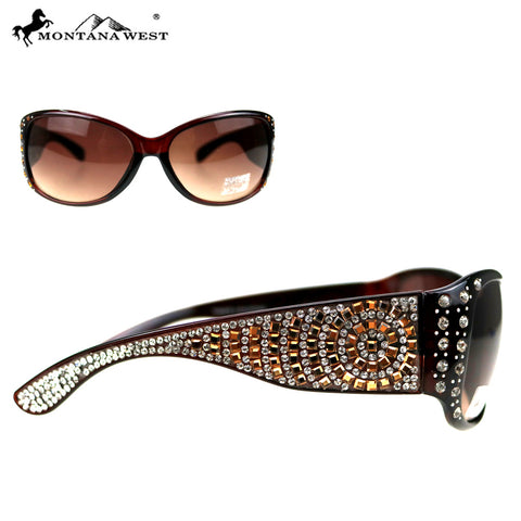 SGS-5108 Montana West Bling Bling Collection Sunglasses