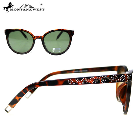 SGS-5302 Montana West Cat Eye Collection Woman Sunglasses By Pair
