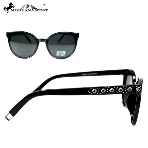 SGS-5304 Montana West Cat Eye Collection Woman Sunglasses