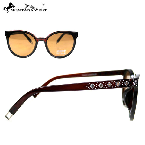 SGS-5304 Montana West Cat Eye Collection Woman Sunglasses By Pair