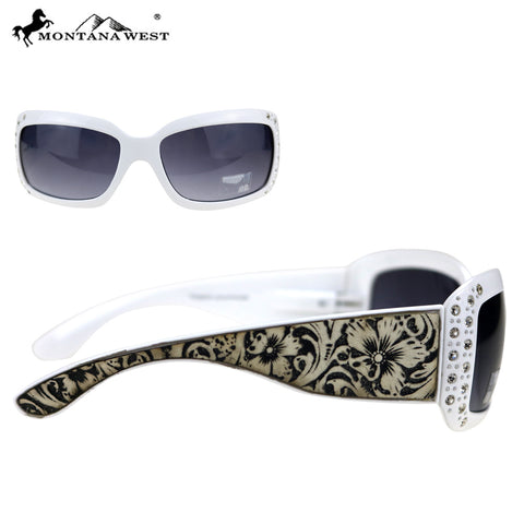 SGS-5501 Montana West Western Tooled Collection Sunglasses By Dozen