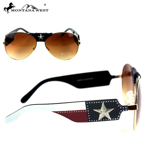 SGS-TX05 Montana West Texas Collection Sunglasses
