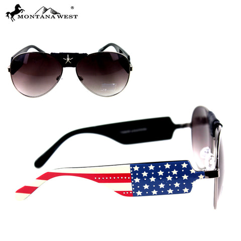 SGS-US04 Montana West US Pride Collection Sunglasses